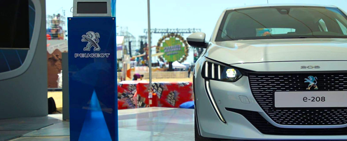 Peugeot, main partner del Jova Beach Party, per un futuro elettrizzante